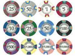 Milano 10 Gram Pure Clay Poker Chips