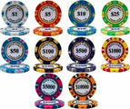 Monte Carlo 14 Gram Clay Poker Chips