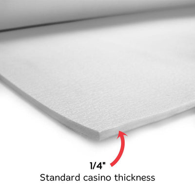 10 Foot Closed Cell Poker Table Foam