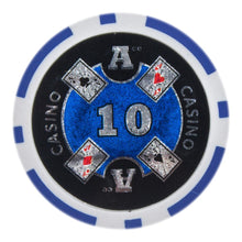 $10 Ten Dollar Ace Casino 14 Gram - 100 Poker Chips