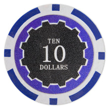 $10 Ten Dollar Eclipse 14 Gram - 100 Poker Chips