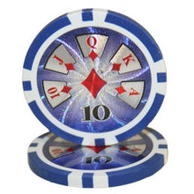 $10 Ten Dollar High Roller 14 Gram - 100 Poker Chips