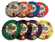100 Desert Sands 10 Gram Ceramic Poker Chips Bulk