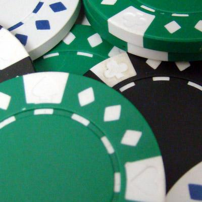 100 Diamond Suited 12.5 Gram Poker Chips Bulk