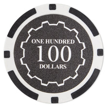 $100 One Hundred Dollar Eclipse 14 Gram - 100 Poker Chips