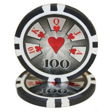$100 One Hundred Dollar High Roller 14 Gram - 100 Poker Chips