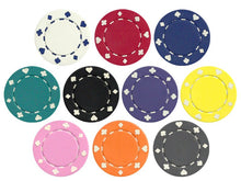 100 Suited 11.5 Gram Poker Chips Bulk