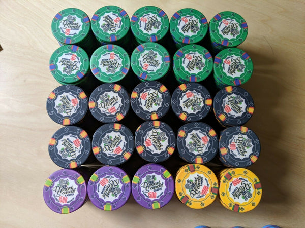 1000 Desert Sands 10 Gram Ceramic Poker Chips Bulk
