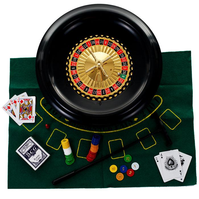 "16"" Roulette Wheel With Accessories"