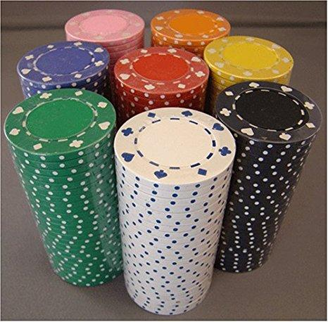 200 Suited 11.5 Gram Poker Chips Bulk