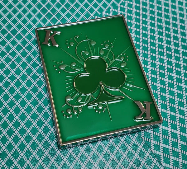 Lucky King Poker Card Guard