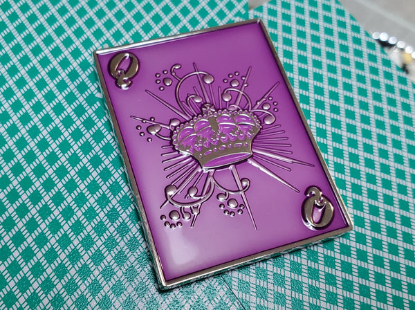 Lucky Queen Poker Card Guard