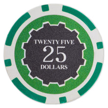 $25 Twenty Five Dollar Eclipse 14 Gram - 100 Poker Chips