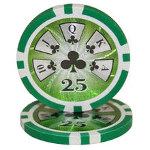 $25 Twenty Five Dollar High Roller 14 Gram - 100 Poker Chips