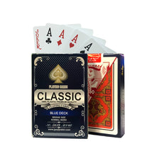 Classic 100% Plastic Playing Cards Bridge Size Standard Index - 10 Decks