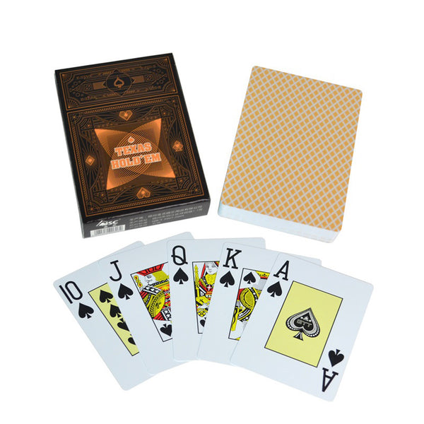 Classic 100% Plastic Playing Cards Poker Size Jumbo Index Single Deck