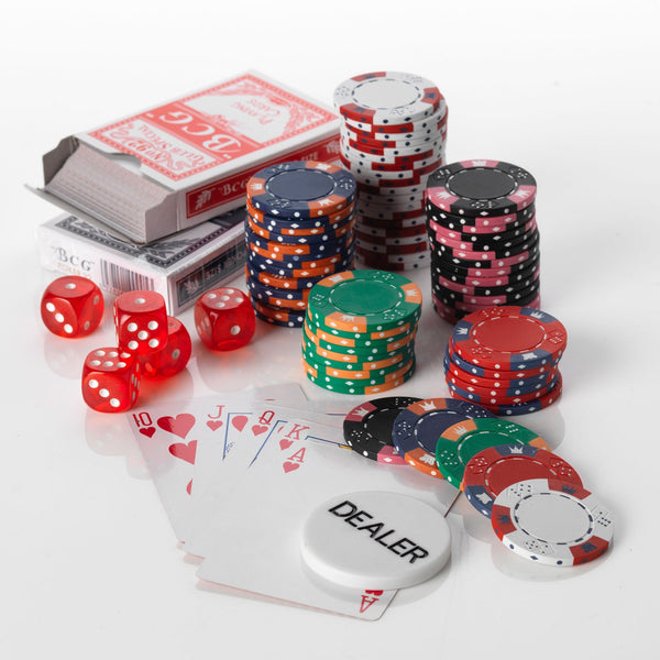 300 Crown & Dice 14 Gram Poker Chips Bulk