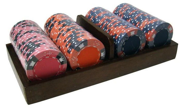 400 Crown & Dice 14 Gram Poker Chips Bulk