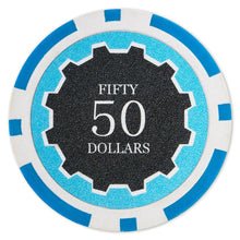$50 Fifty Dollar Eclipse 14 Gram - 100 Poker Chips
