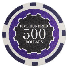 $500 Five Hundred Dollar Eclipse 14 Gram - 100 Poker Chips