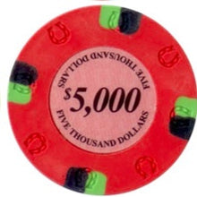 $5000 Pink Lucky Casino 13.5 Gram - 100 Poker Chips