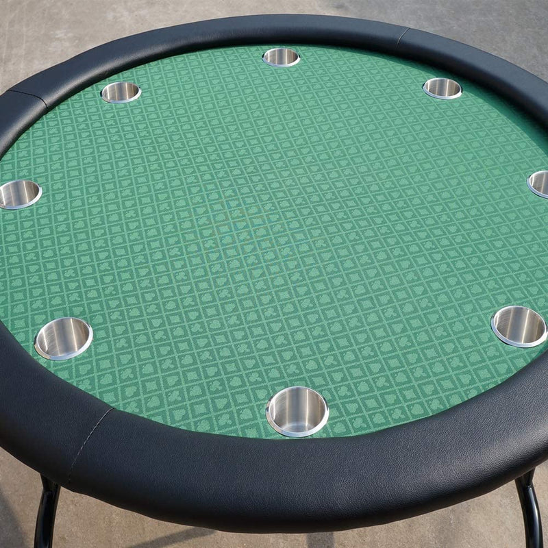 Green Suited Speed Cloth 100% Polyester Poker Table Felt 10ftx5ft