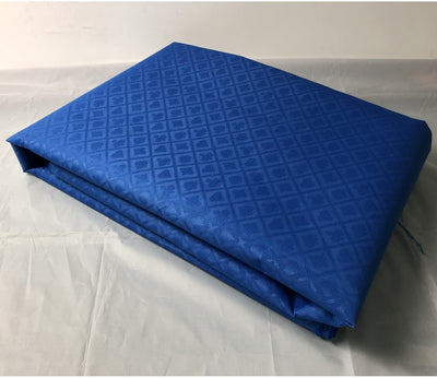 Royal Blue Suited Speed Cloth 100% Polyester Poker Table Felt 10ftx5ft