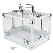 Empty 600 Ct Acrylic Carrier Case with 6 Chip Trays