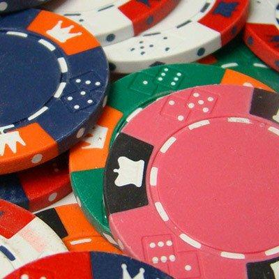 900 Crown & Dice 14 Gram Poker Chips Bulk