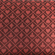 Red Two-Tone Suited Speed Cloth 100% Polyester Poker Table Felt 120x60