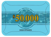 High Stakes $50,000 Poker Plaque