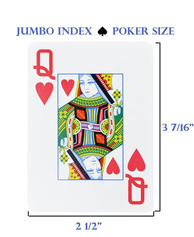 Copag Cards Legacy Black Gold Poker Size Jumbo Index