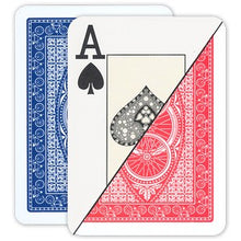 Da Vinci Poker Jumbo Index Route Plastic Playing Cards