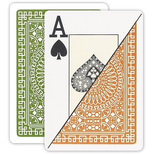 Da Vinci Poker Jumbo Index Palermo Plastic Playing Cards