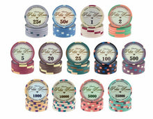 1500 Custom Ceramic Poker Chips