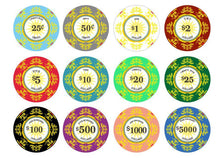 500 Classic Ceramic 10 Gram Poker Chips