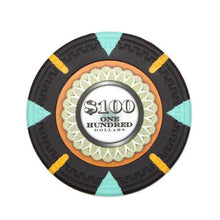 Card Guard - $100 Black Claysmith The Mint 13.5 Gram - 100 Poker Chips