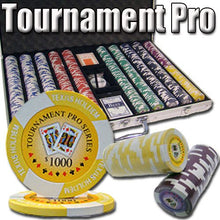 Card Guard - 1000 Tournament Pro 11.5 Gram Poker Chips Set With Aluminum Case