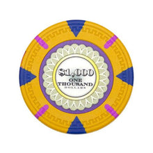 Card Guard - $1000 Yellow Claysmith The Mint 13.5 Gram - 100 Poker Chips