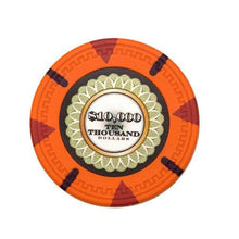 Card Guard - $10000 Orange Claysmith The Mint 13.5 Gram - 100 Poker Chips