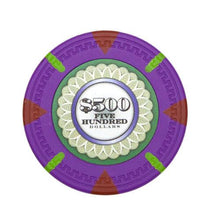 Card Guard - $500 Purple Claysmith The Mint 13.5 Gram - 100 Poker Chips