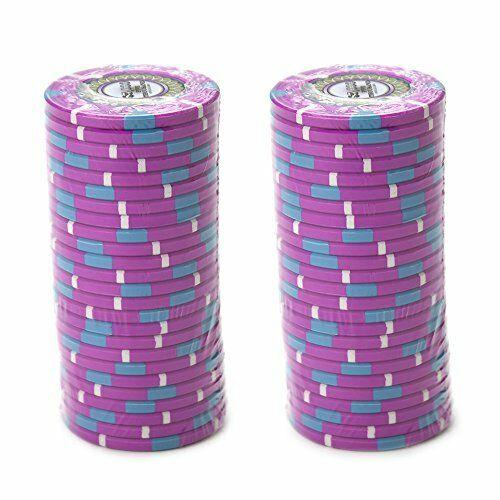 Card Guard - $5000 Pink Claysmith The Mint 13.5 Gram - 100 Poker Chips
