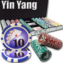 Card Guard - 750 Yin Yang 13.5 Gram Poker Chips Aluminum Case Set