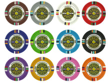 100 Claysmith Gold Rush 13.5 Gram Poker Chips Bulk - The Poker Store .Com