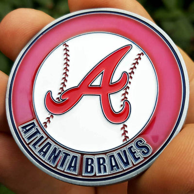 Card Guard - MLB Atlanta Braves Poker Card Guard Hand Protector PREMIUM