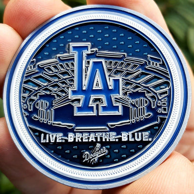 Card Guard - MLB Los Angeles Dodgers Poker Card Guard Protector PREMIUM