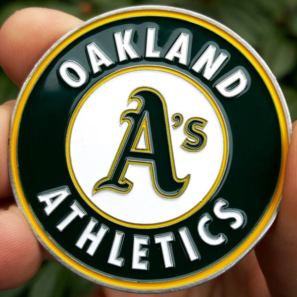 Card Guard - MLB Oakland Athletics A's Poker Card Guard Protector PREMIUM