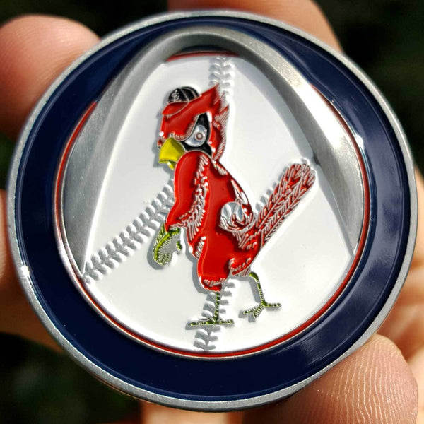 Card Guard - MLB Throwback St. Louis Cardinals Poker Card Guard Protector PREMIUM