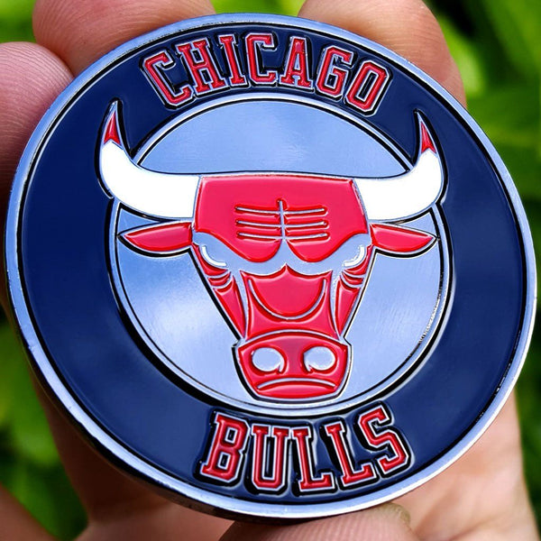 Card Guard - NBA Chicago Bulls Poker Card Guard Protector PREMIUM