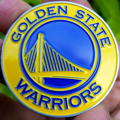 Card Guard - NBA Golden State Warriors Poker Card Guard Protector PREMIUM